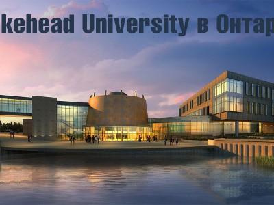 Lakehead University в Онтарио