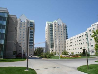 University of Regina в Саскачеване - Проживание