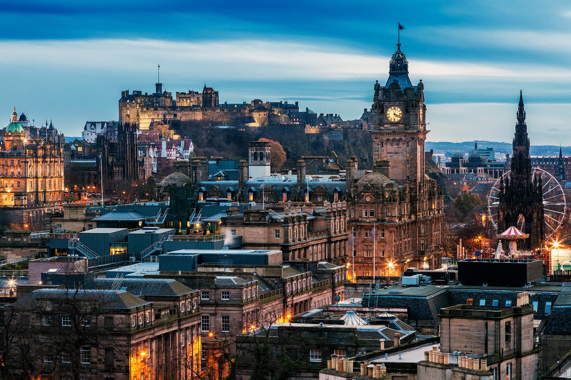 Обои scotland, эдинбург, утро, Шотландия, edinburgh. Города foto 13