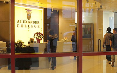 Alexander College в Британской Колумбии - Английский