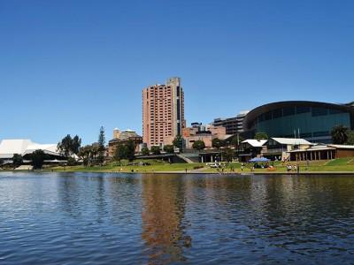 Школа английского языка Kaplan в Аделаиде - Расположение