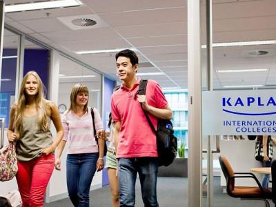 Школа английского языка Kaplan в Мельбурне - Расположение
