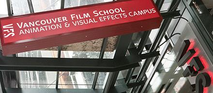 Vancouver Film School в Британской Колумбии