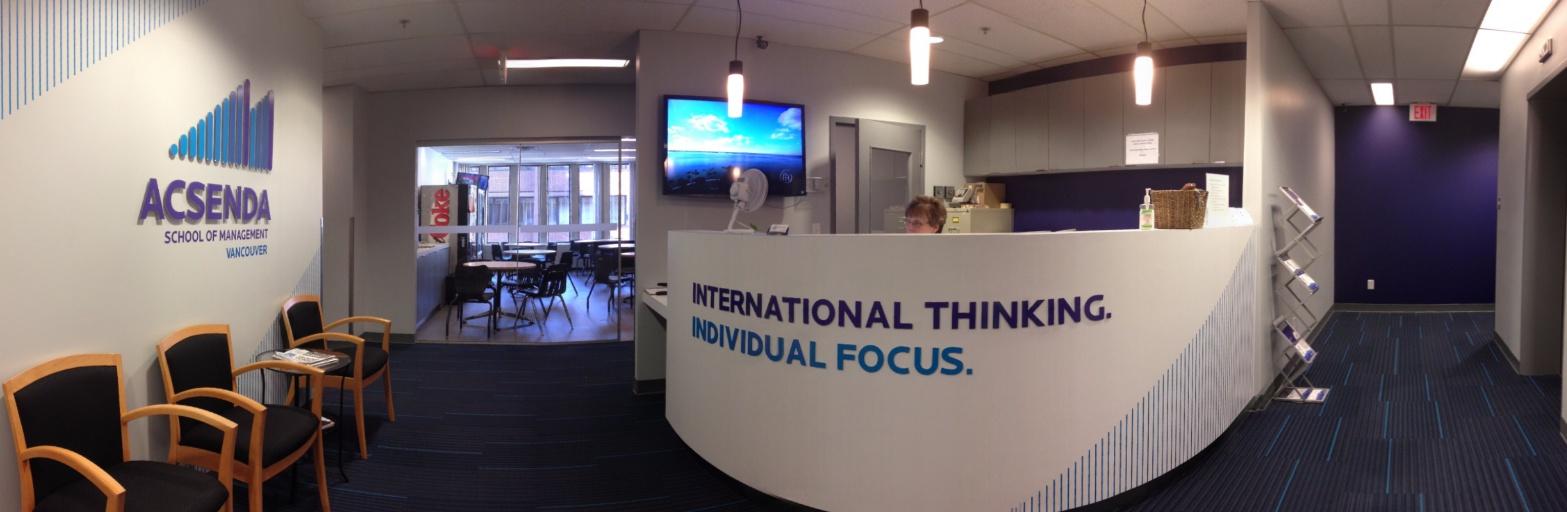 Acsenda School of Management в Британской Колумбии